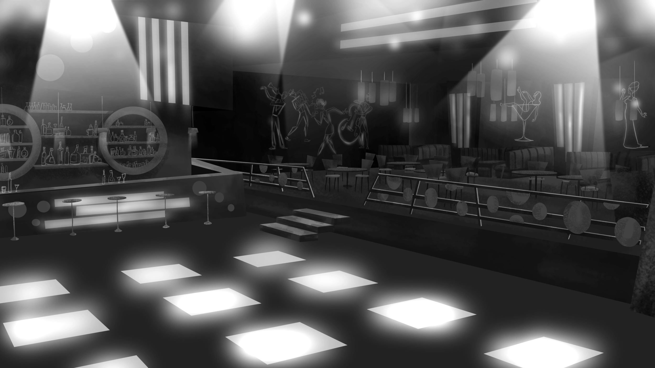 Bar/Disco:Location design