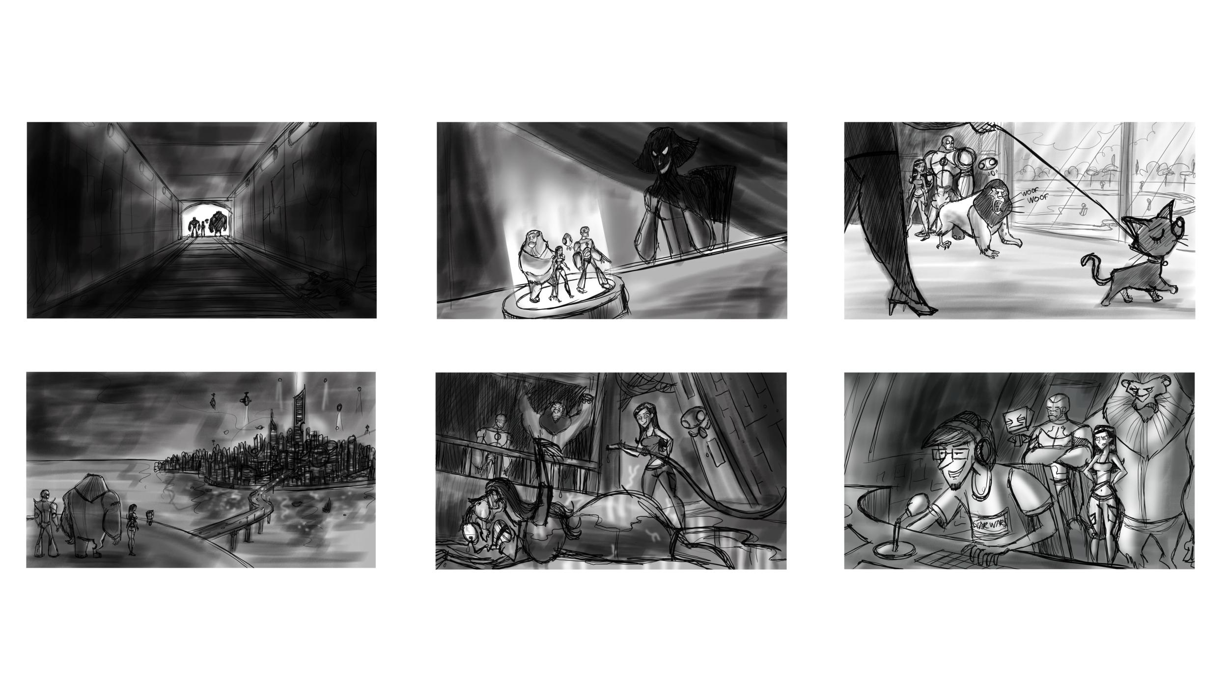 Story moments: Thumbnails