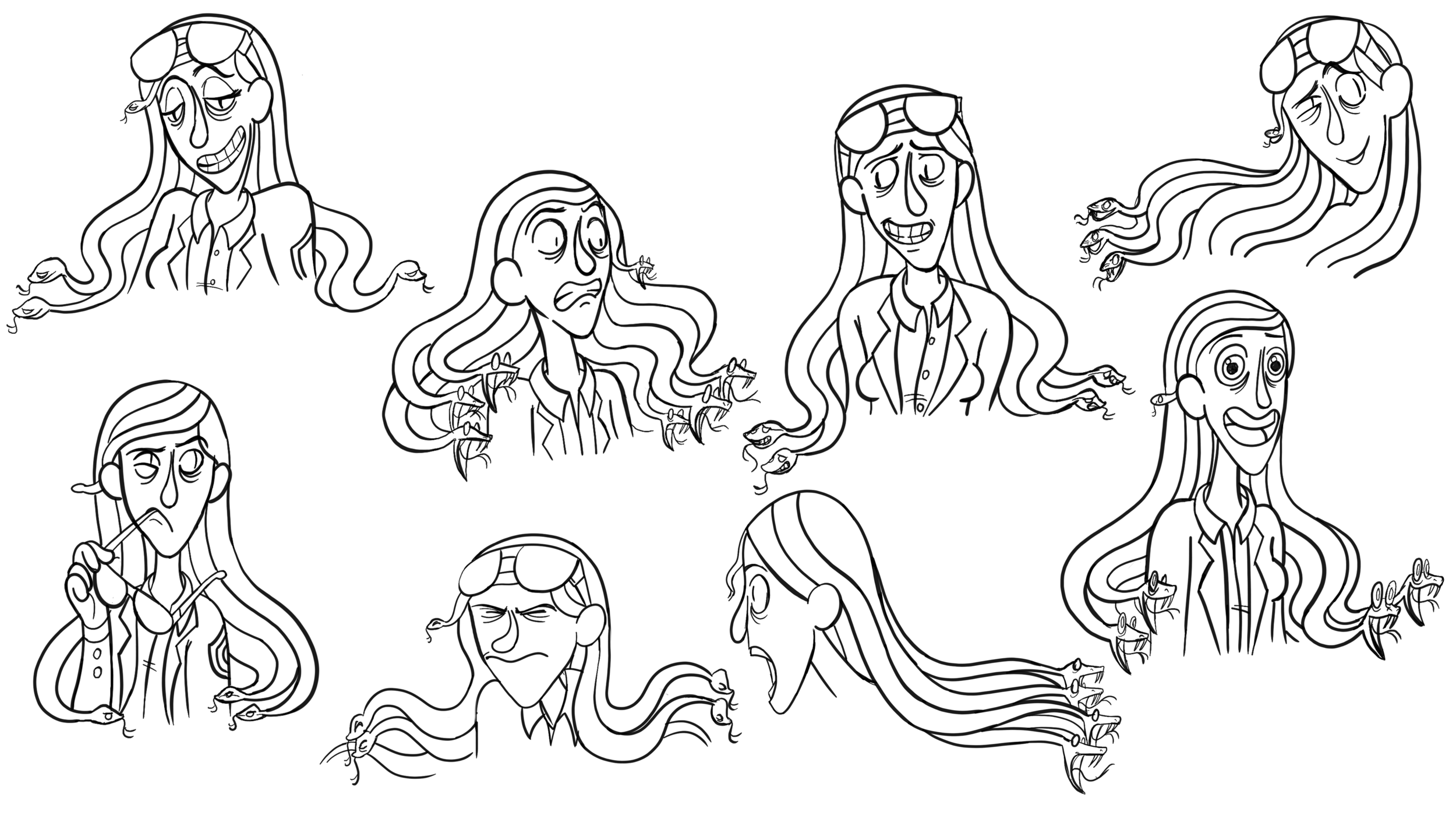 Medusa: Expressions