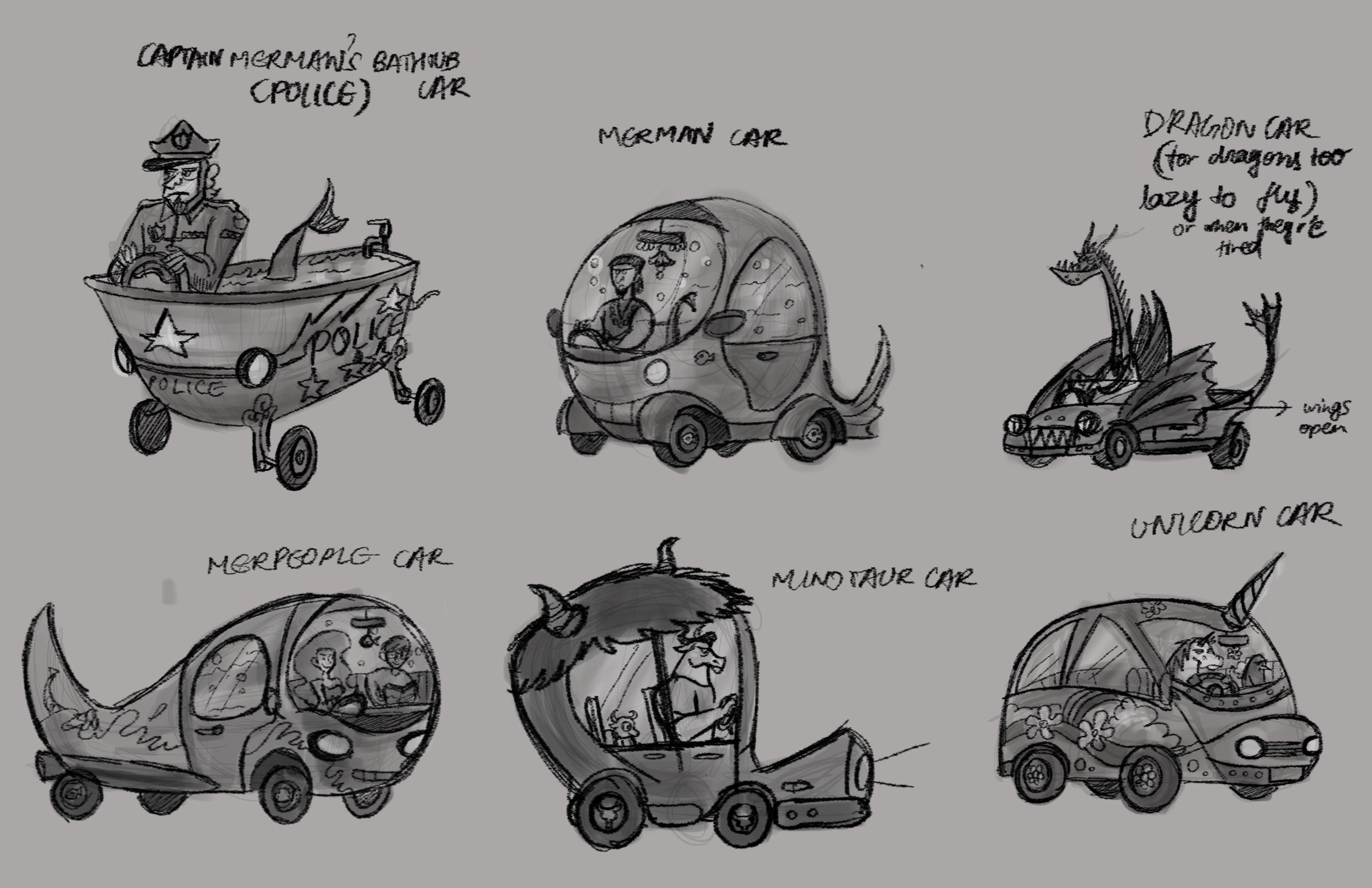 Vehicles: Explorations