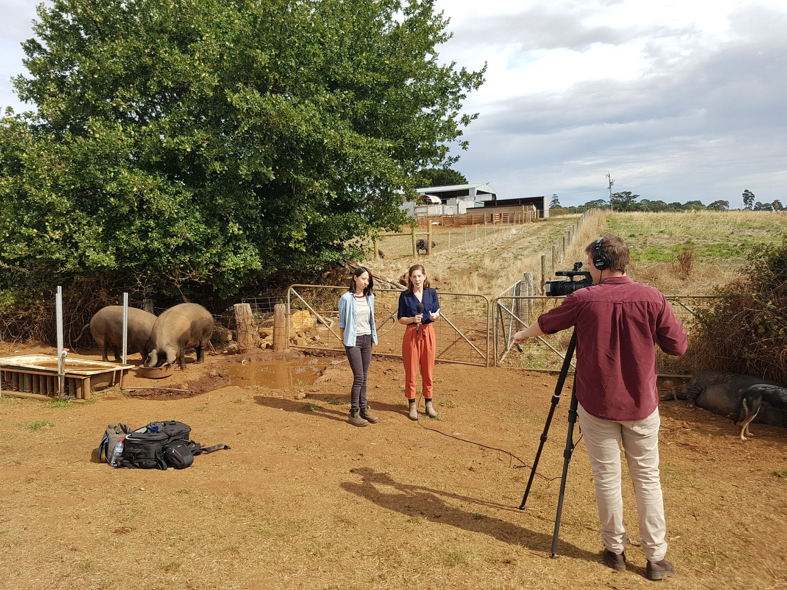 Emma with ABC Rural