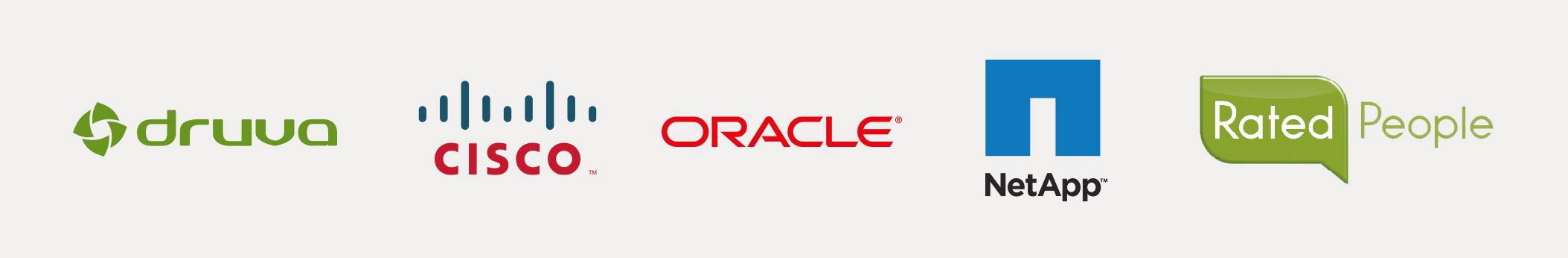 Druva, Oracle, NetApp, Rated People