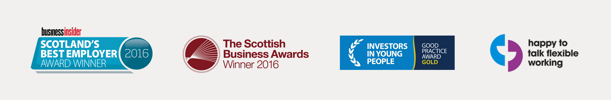 Business Insider Scotlands Best Employer, Scottish Business Awards, Investors in young people