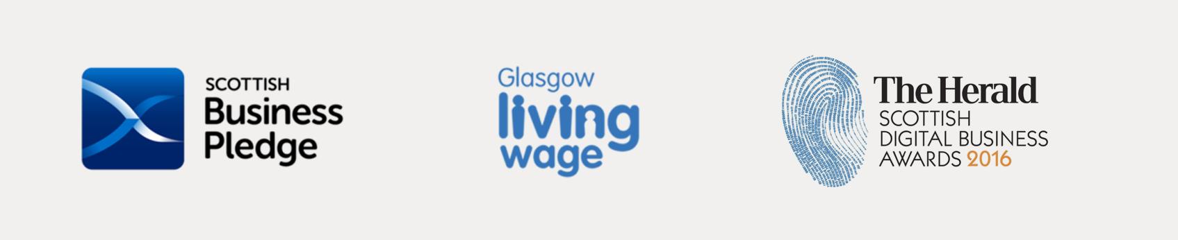 Scottish Pledge, Glasgow living wage, the herald scottish digital awards