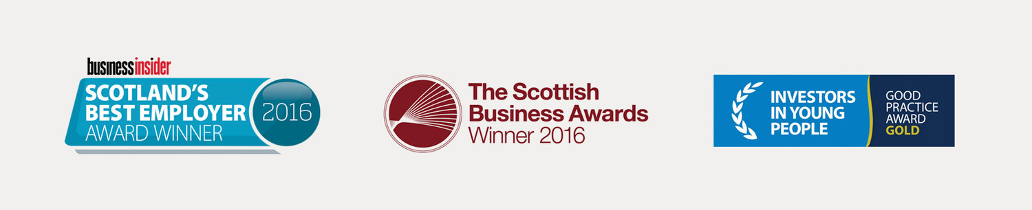 Scotland Best Employer, The Scottish Business Awards, Investors in Young People