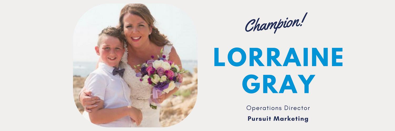 Lorraine Gray Champion