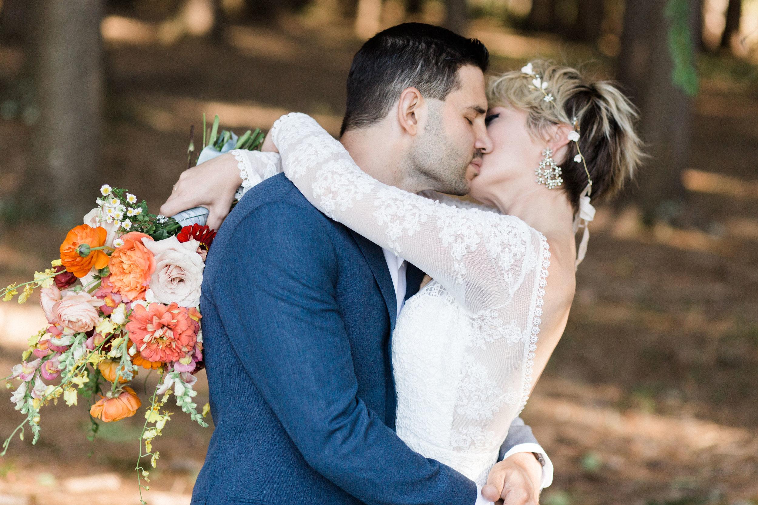 Josh & Hannah || A Fall Wedding in the Catskills