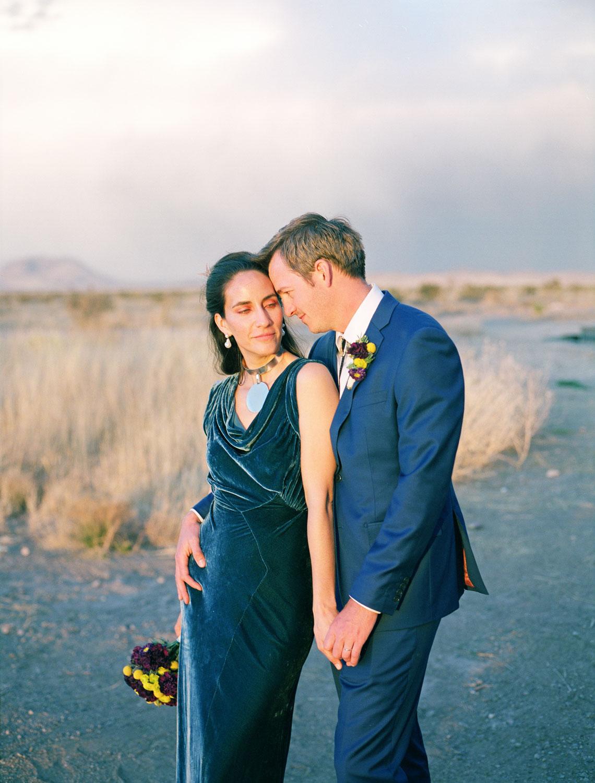 Alan + Taylor || An Intimate Wedding in Marfa, TX