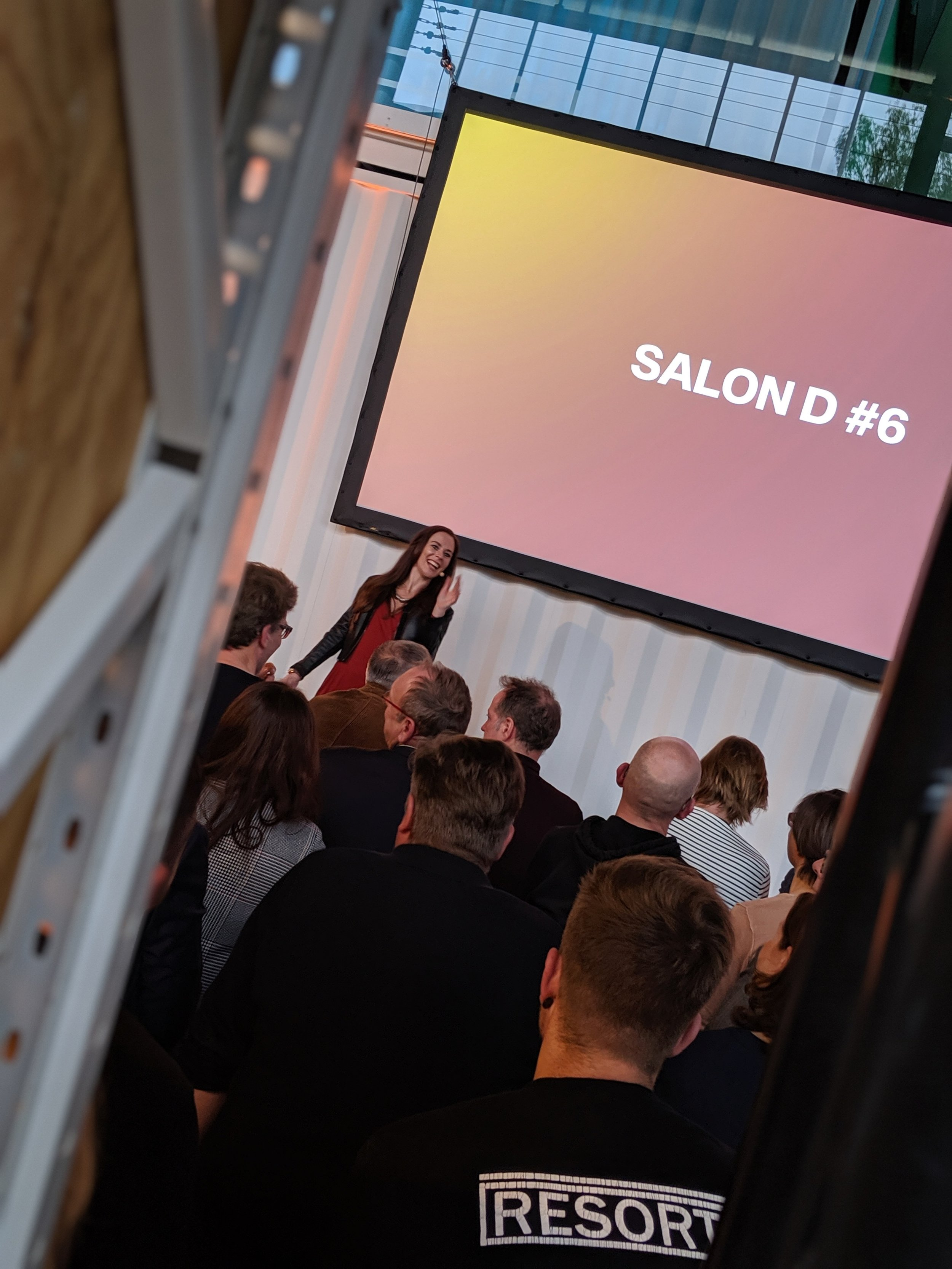 "Fachmoderation des Salon D ""Values Create Value"" von dreiform GmbH"