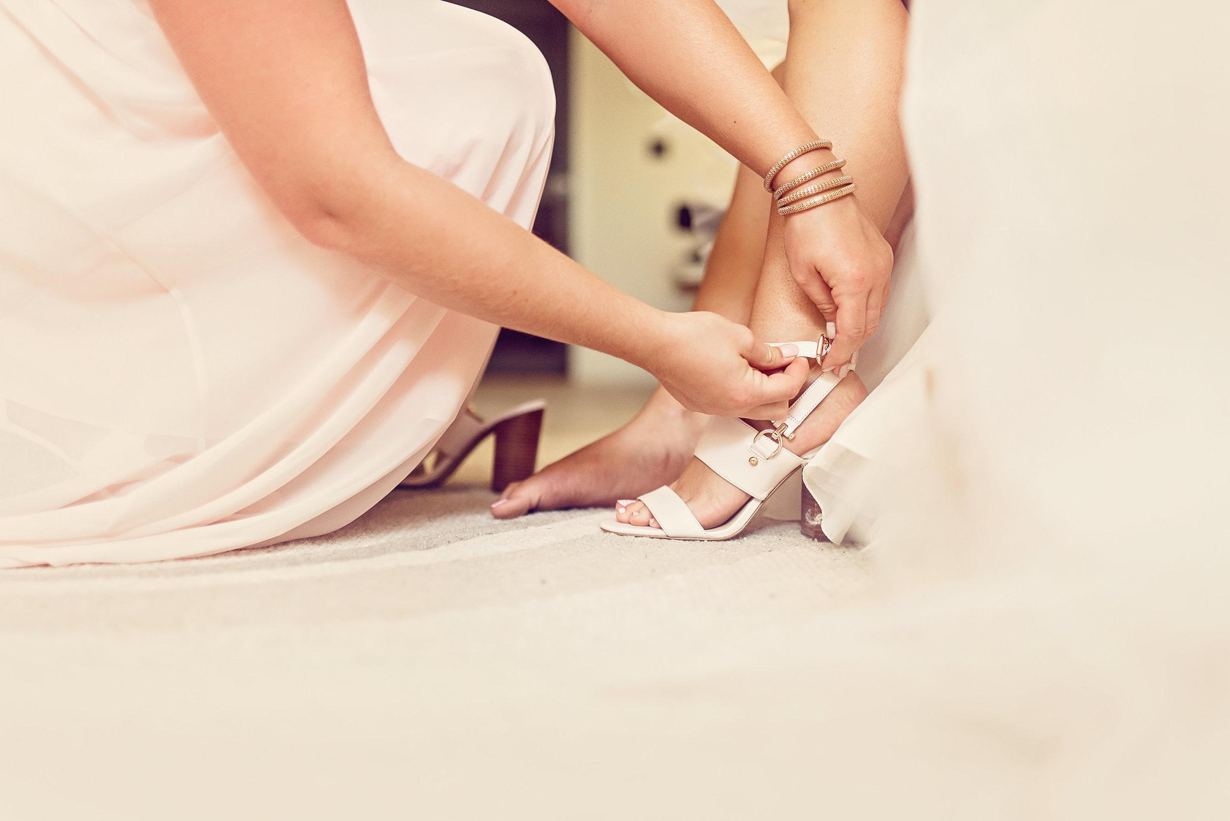 wedding-venue-bridal-suite-bride-shoes