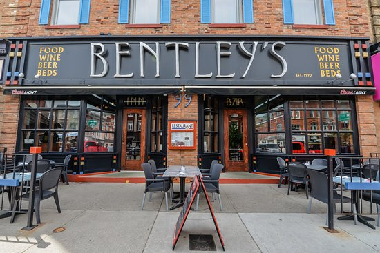 Enjoy the friendly and casual vibe of Bentley's Bar & Restaurant, which is a local favourite offering an extensive beverage and pub fare menu, and is situated in the heart of Stratford.