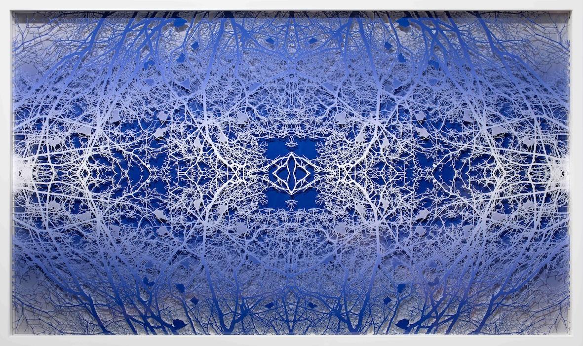 Treescape (Blue)