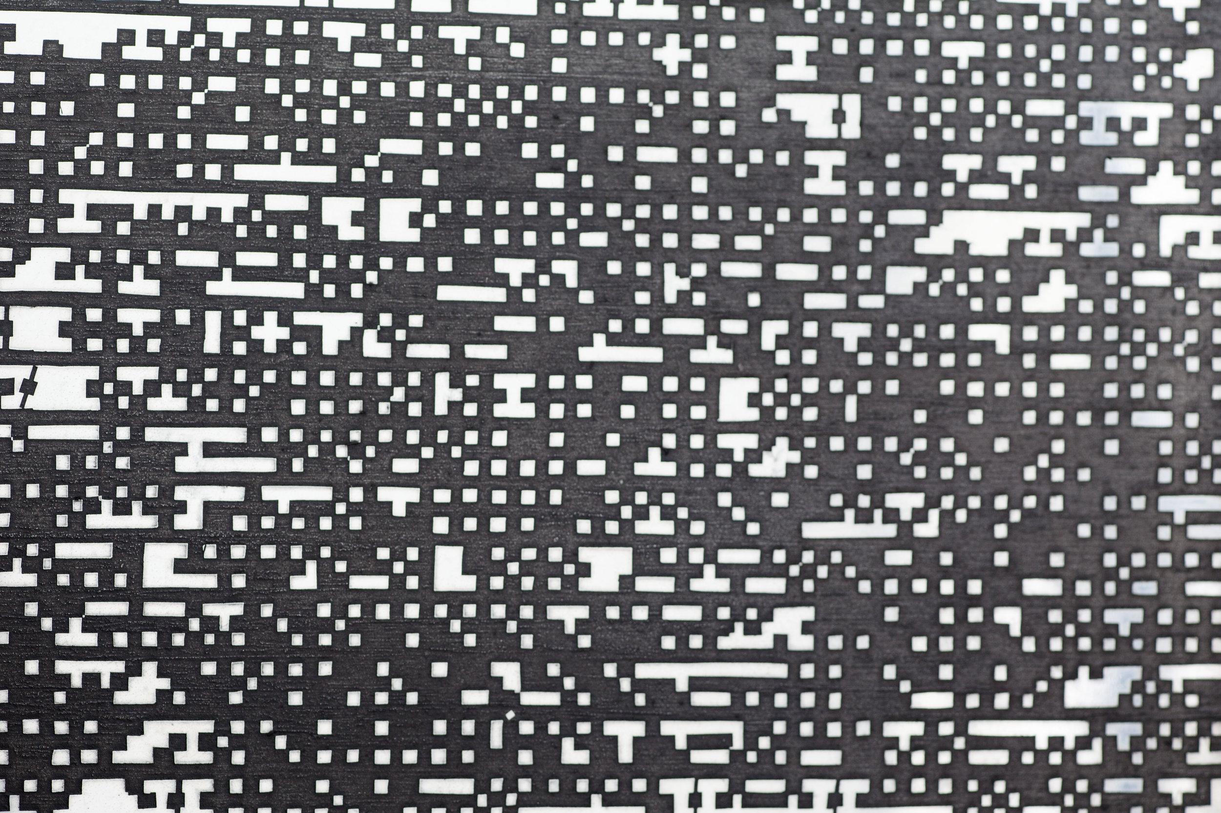 Hard Copy (Crashing Waves II) (detail)
