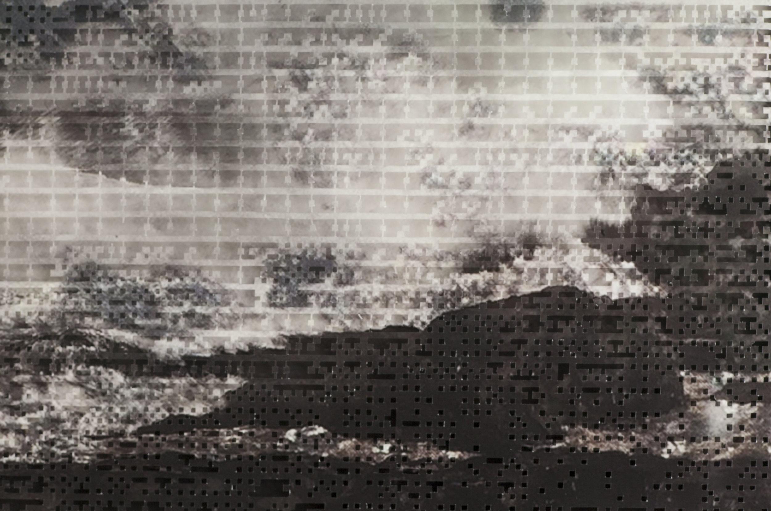 Crashing Waves I (detail)