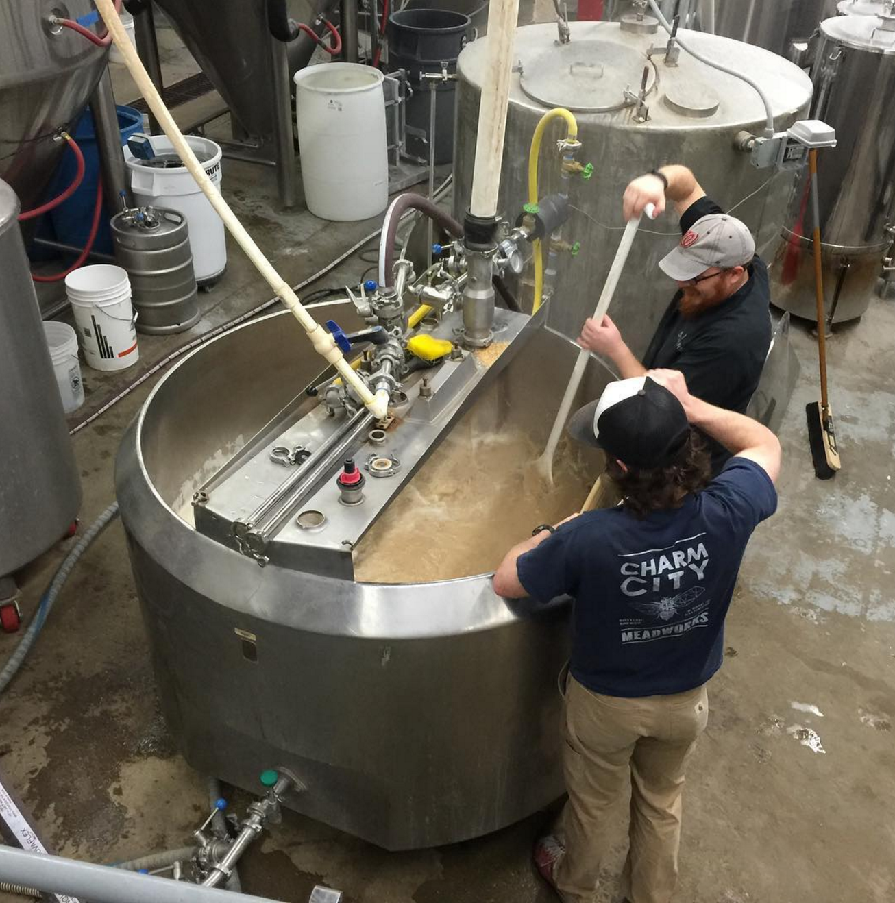 Mashing in - Charm City collab