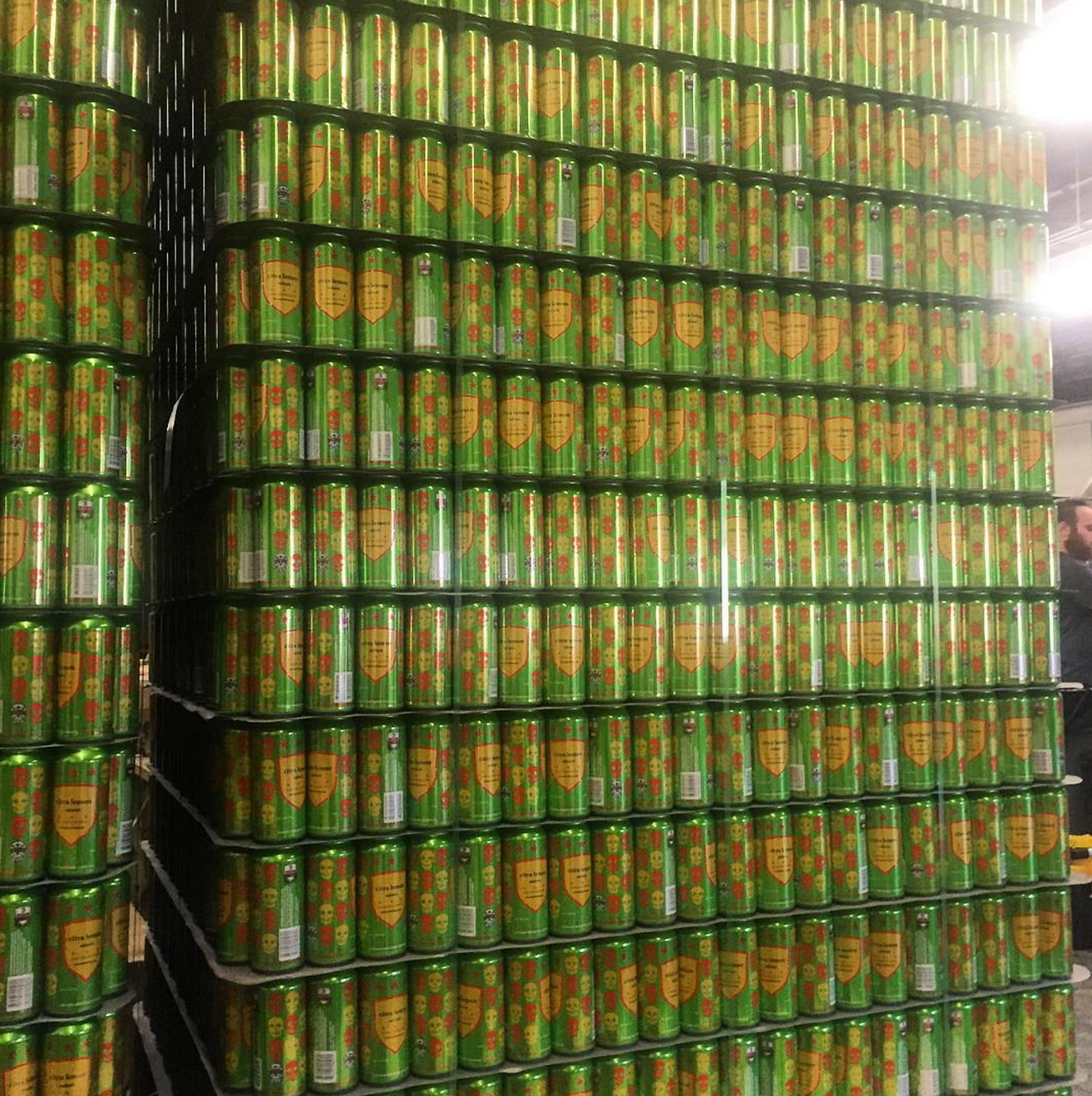 Citra lemon tallboys