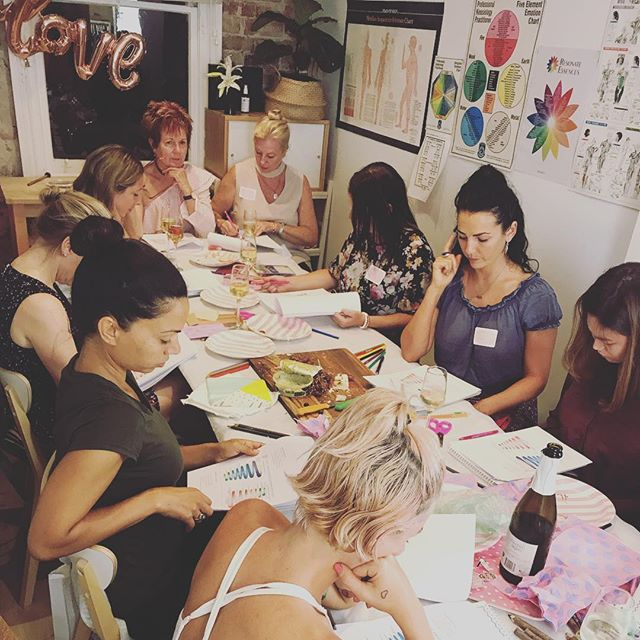 Thanks to the lovely ladies that came to the Galentines MANifest Love workshop. It was a beautiful, honest & raw evening. My heart is full with gratitude. 💗💗💗 #manifest #manifestation #manifesting #manifestlove #love #singles #beautifulwomen #sydney #workshop #craft #creative #colouring #adultcolouringbook #galentinesday #valentines2019 #australia