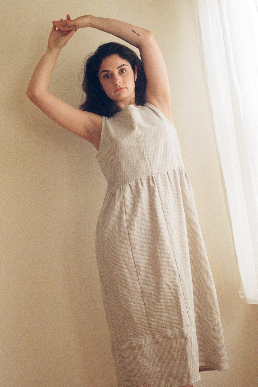 Inverted Stripe Dress