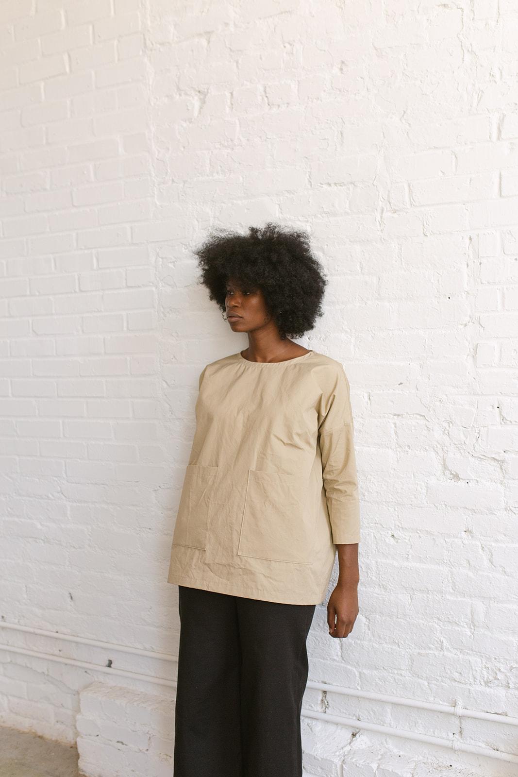 Blythe Tunic - khaki