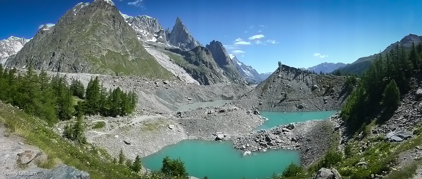 Lac du Miage.