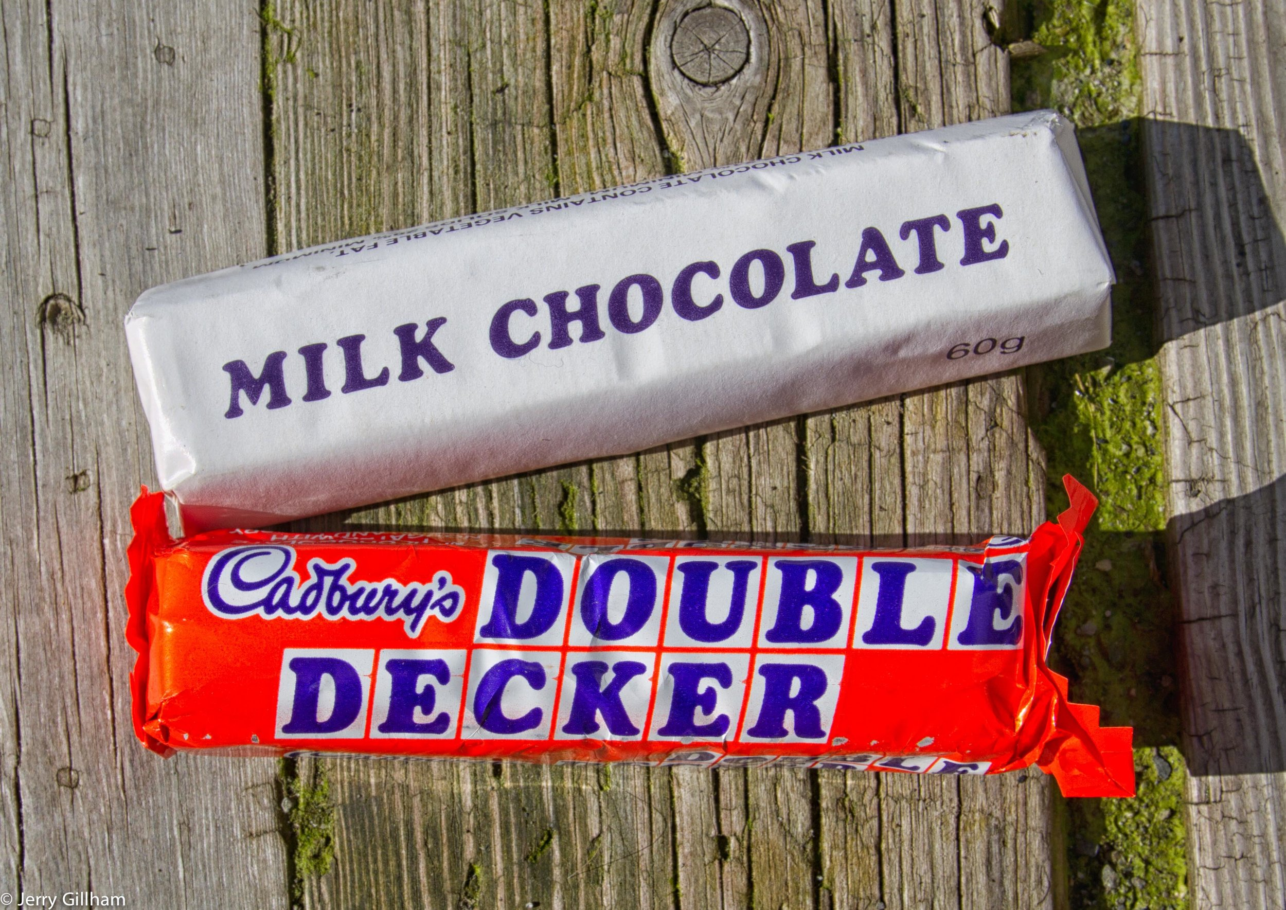 Amongst the gems, an old-style Double Decker and my favourite type of chocolate bar, a Milk Chocolate.