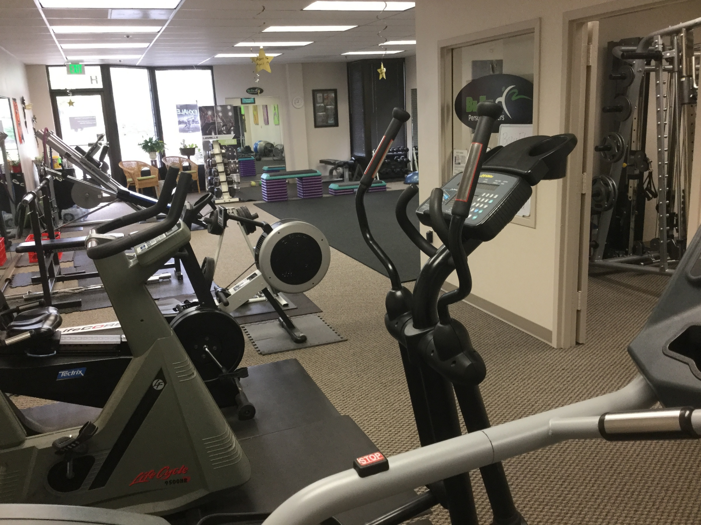 Be Fit Personal Trainers cardio location
