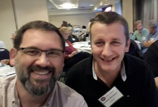 (pictured above) Shane McNary and Sasha Zivanov. Shane serves in Slovakia and Sasha serves in St. Louis, Mo.