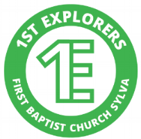 1st Explorers Logo plain green.png