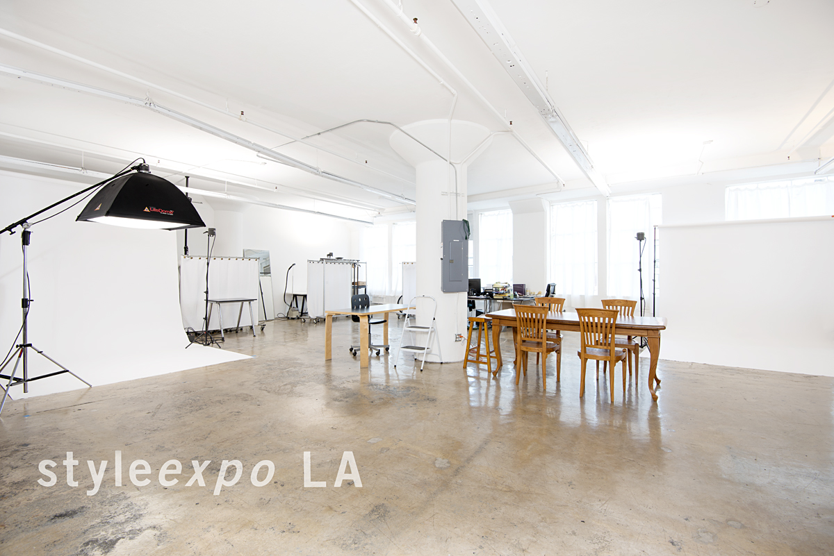 Our studio in downtown Los Angeles