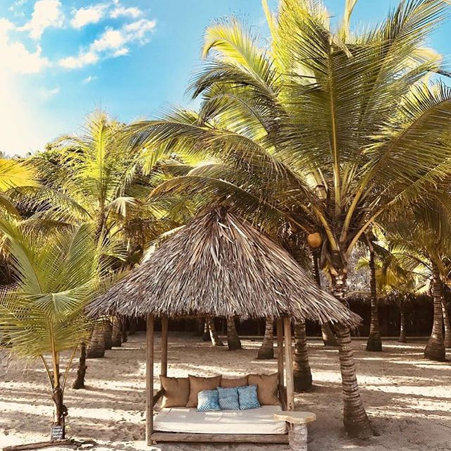 Today's moment of zen at @gitanadelmarbeachresort in Colombia 🇨🇴⠀ ⠀ Who else wants to relax after a yummy beachside yoga class in this cabana!? We do! @lotusretreat is putting on their Self realization & Empowerment Retreat in ⠀ Colombia March 11-16th with @lorenlotus & @katysyogaflow. For more details go to seekretreat.com⠀ #cabanalife #retreatlife #colombiaretreat⠀ ⠀ ⠀ ⠀ .⠀ .⠀ .⠀ .⠀ .⠀ #travelwithmeaning #soulfuladventure #inspiration #travel #wanderlust #adventuremore  #intothewild #alifealive #stayandwander #adventurevisuals #adventurethatislife #liveadventurously #letsgosomewhere #wherewillwegonext #livewild #doyoutravel #theglobewanderer #ourplanetdaily #discoverearth #artofvisuals #theglobewanderer #retreat #yoga #yogaretreat #yogaeverywhere #seekgrid⠀