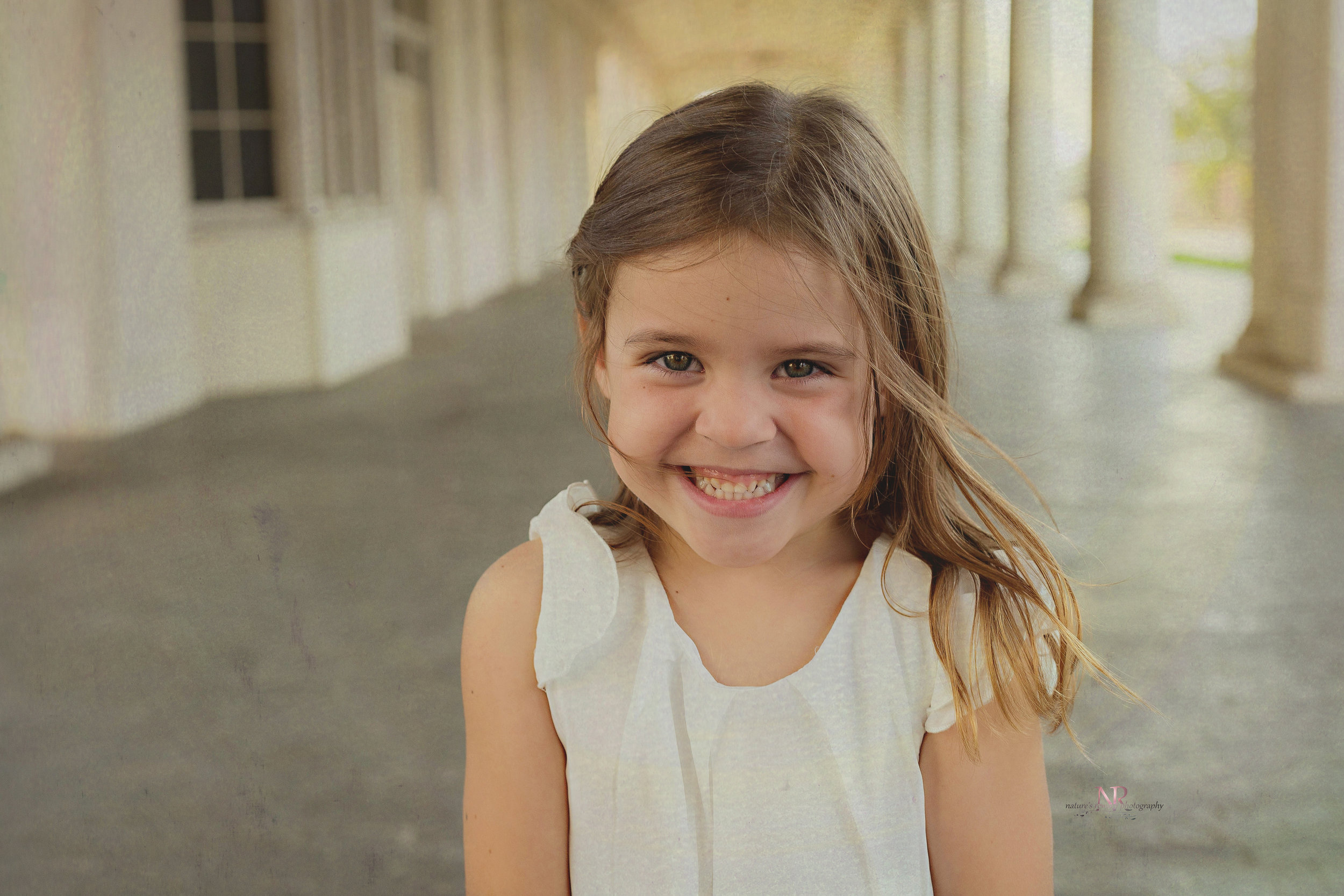 Lovely little girl portrait