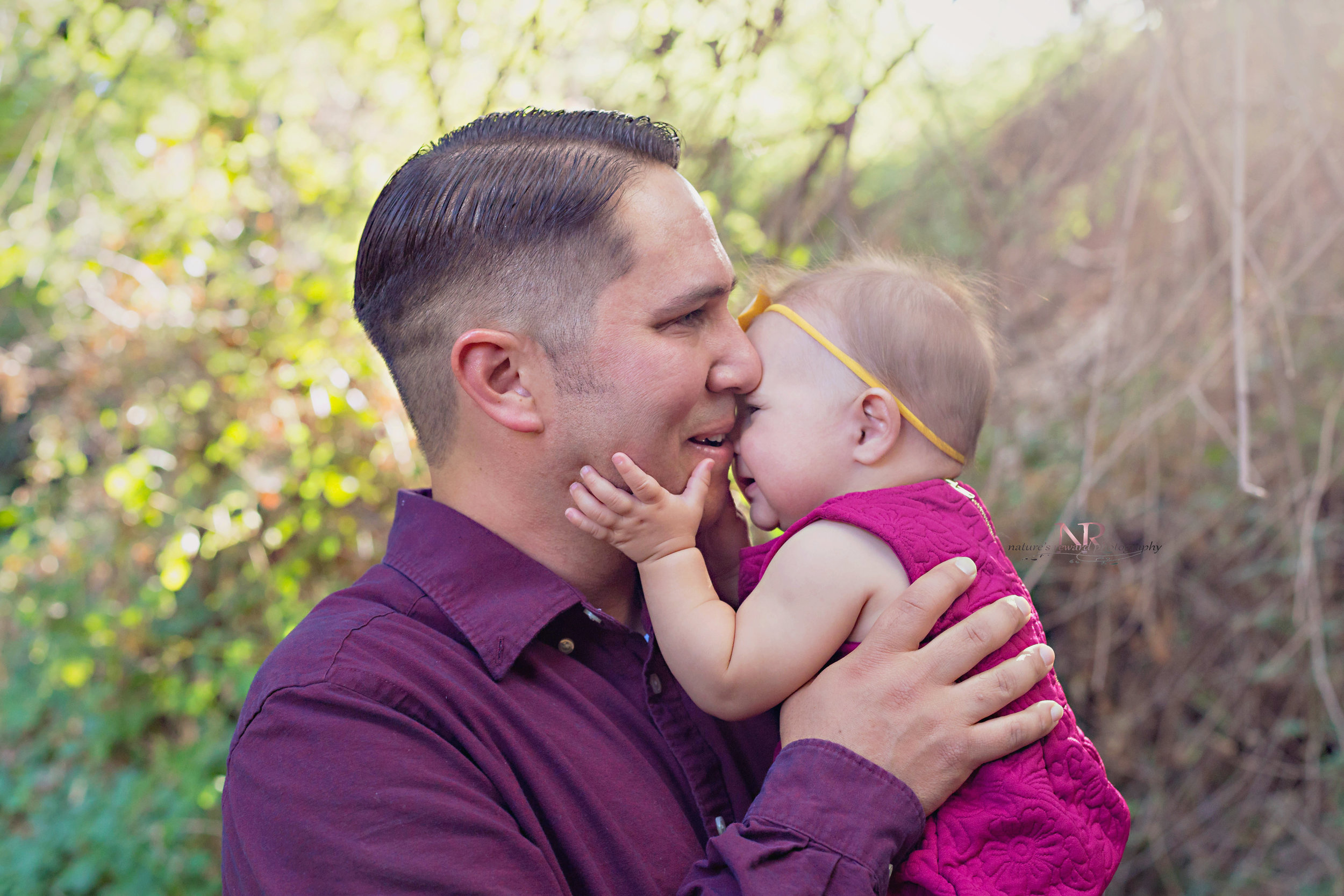 And then this little 6 month old girl loved on her daddy- and I grabbed the images. These are a treasure.