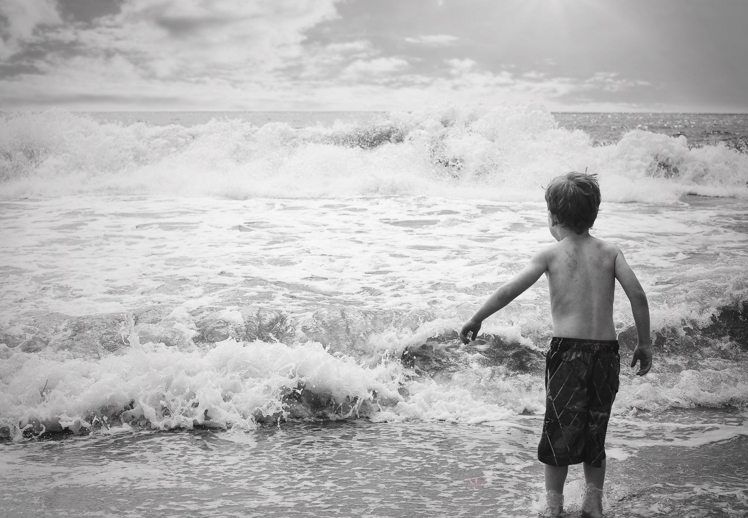 My favorite image from the beach. I will hang this one!