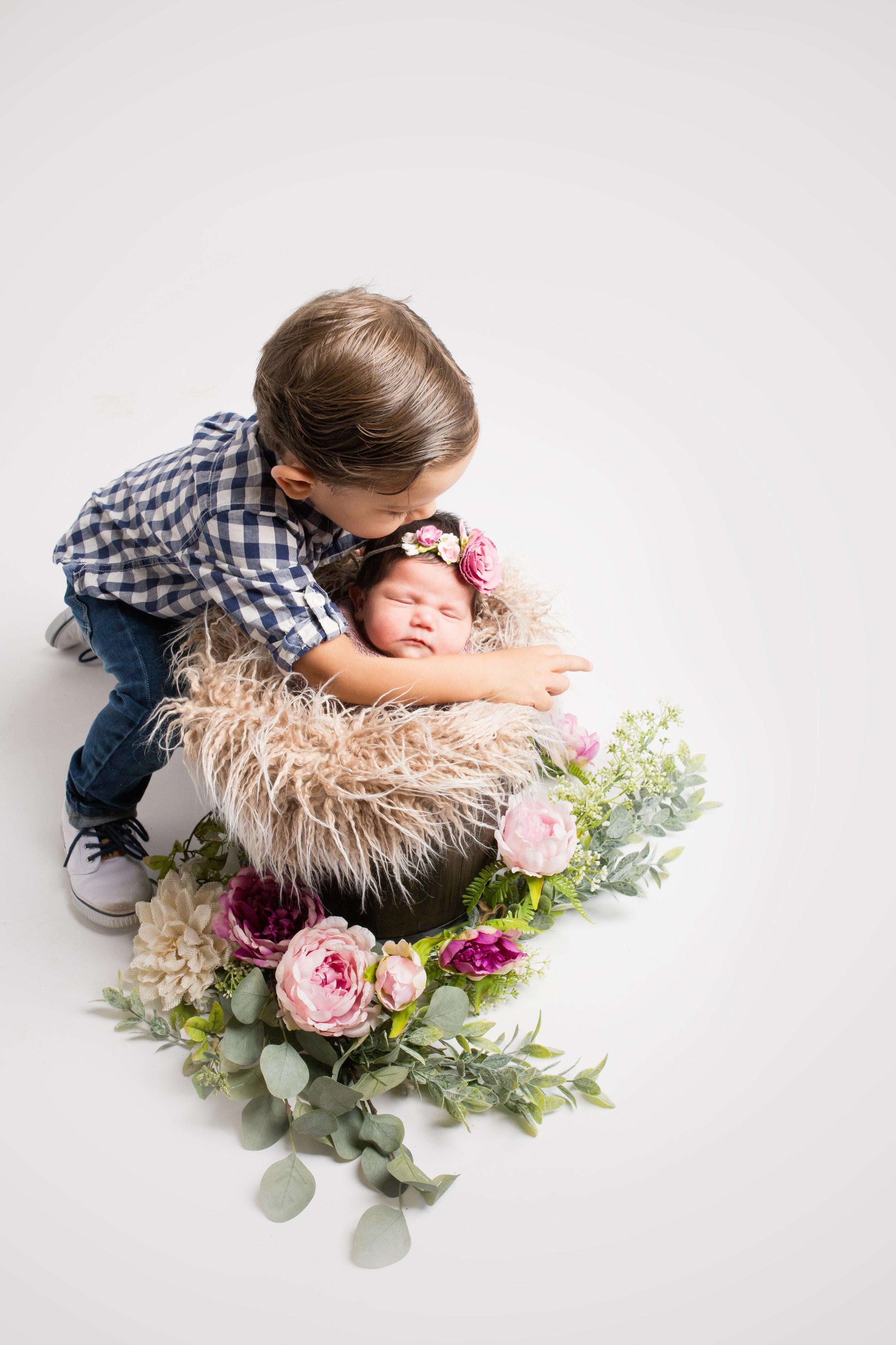 Big Brother's Sweet Kiss