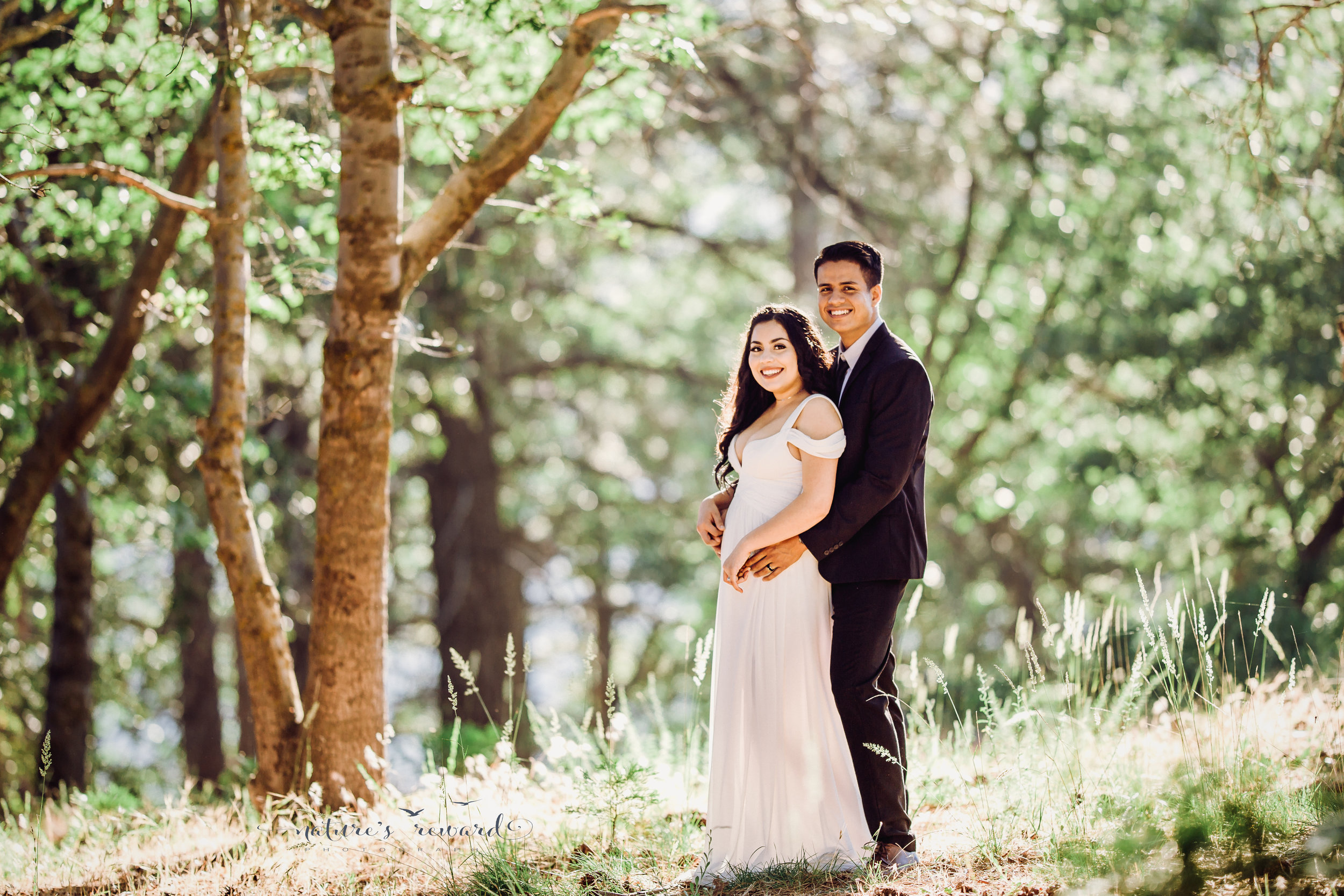 Here they are!  Gorgeous bride and groom portrait by Nature's Reward Photography