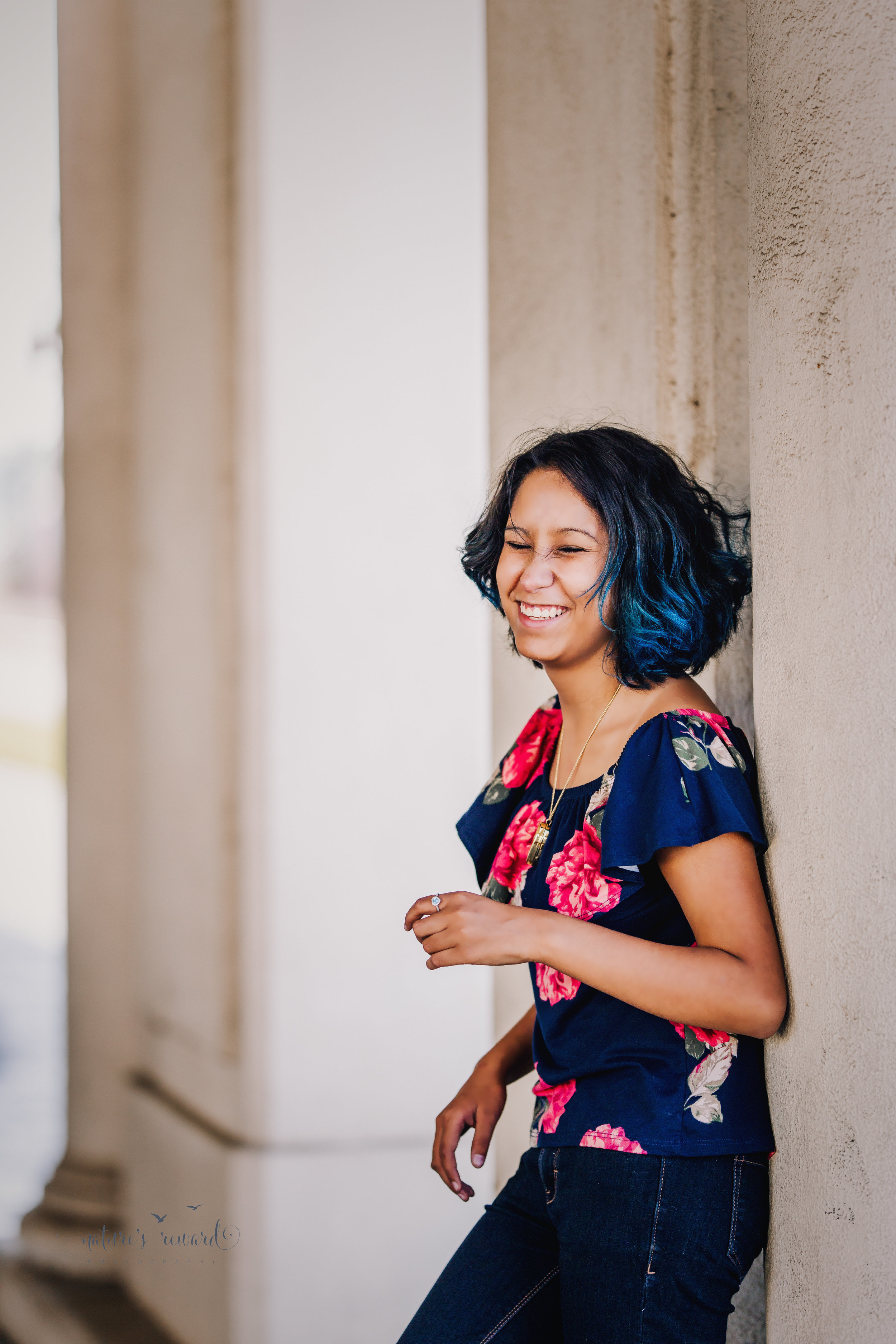 Gorgeous Senior Portrait session in downtown location by Nature's Reward Photography