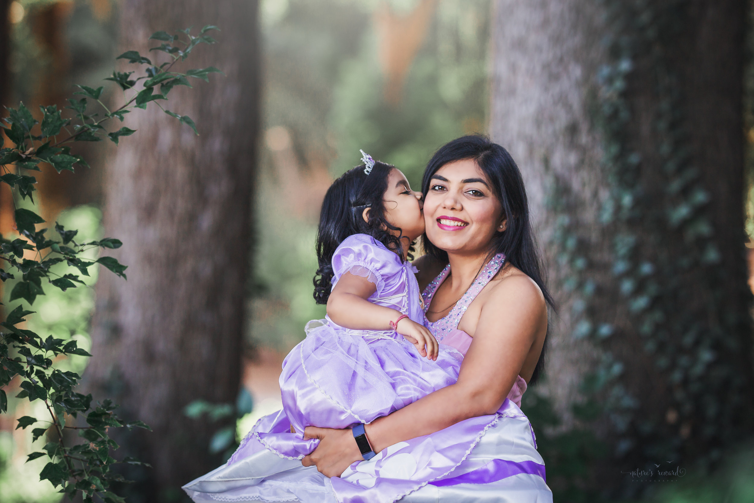 Mom and me portrait by Nature's Reward Photography