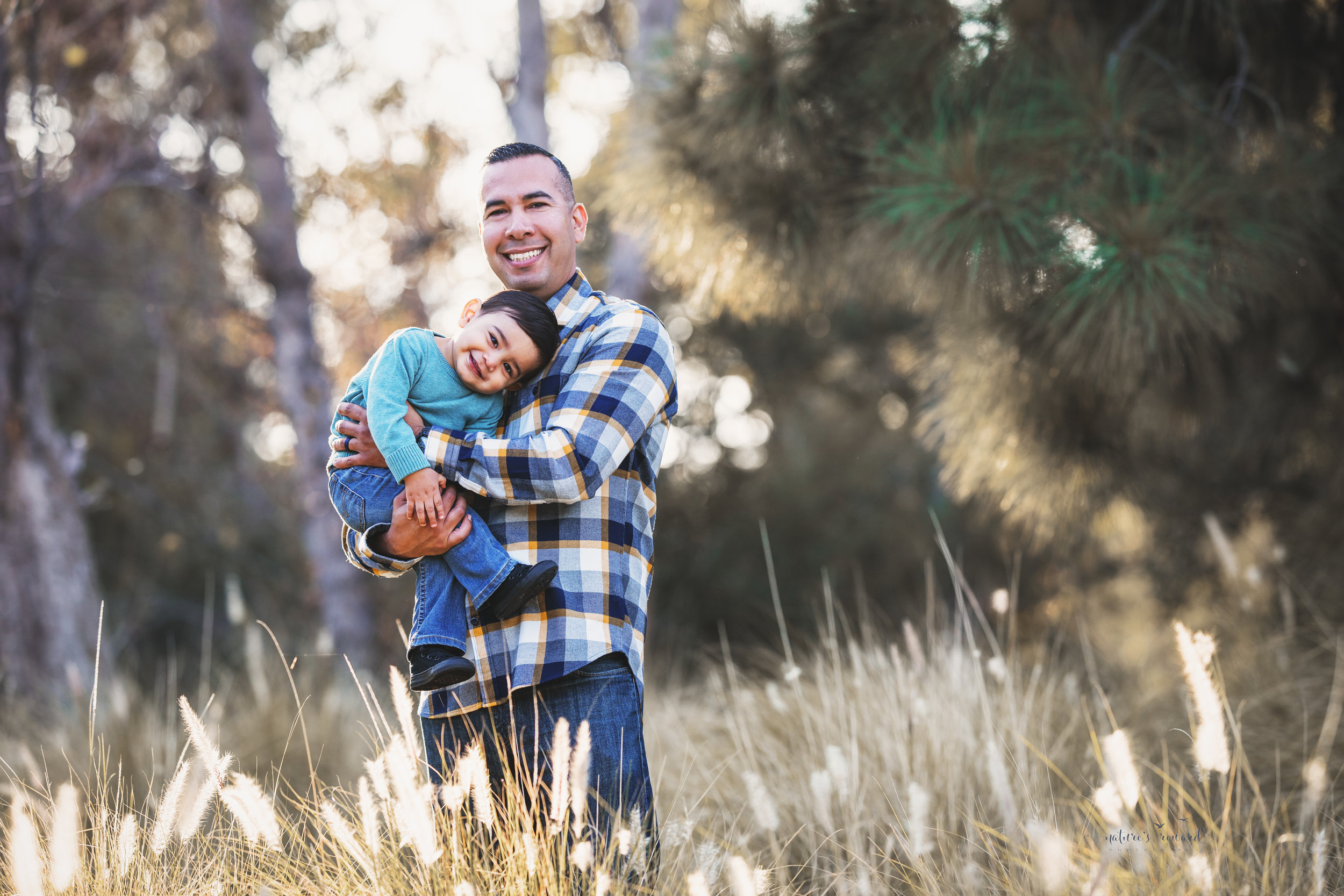 Father and son and this family portrait by Nature's Reward Photography