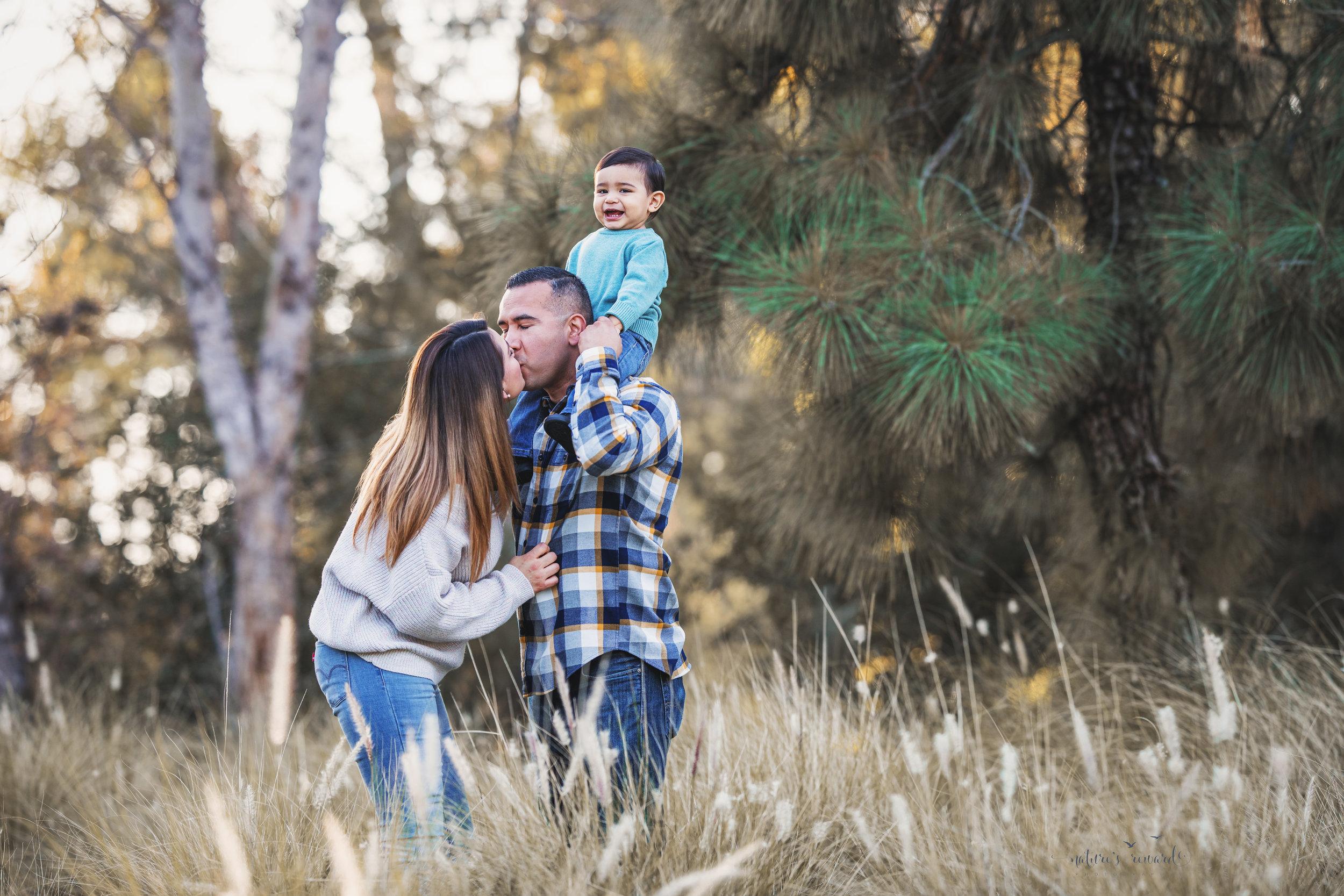 Gorgeous family portrait by Nature's Reward photography
