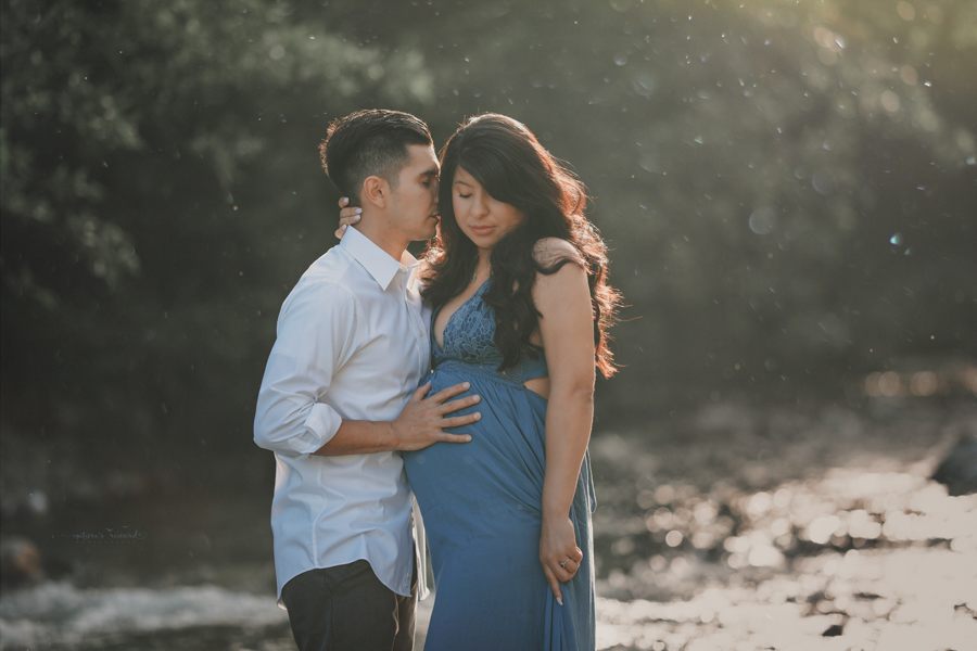 Stunning Creek session in San Bernardino Mountains by Southern Californian Maternity, Newborn and Family Photographer- Nature's Reward Photography