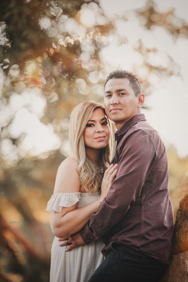 Stunning couples portrait taken during a family session by Nature's Reward Photography
