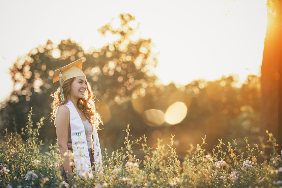 Gorgeous Young lady during her senior session, a portrait by Nature's Reward Photography