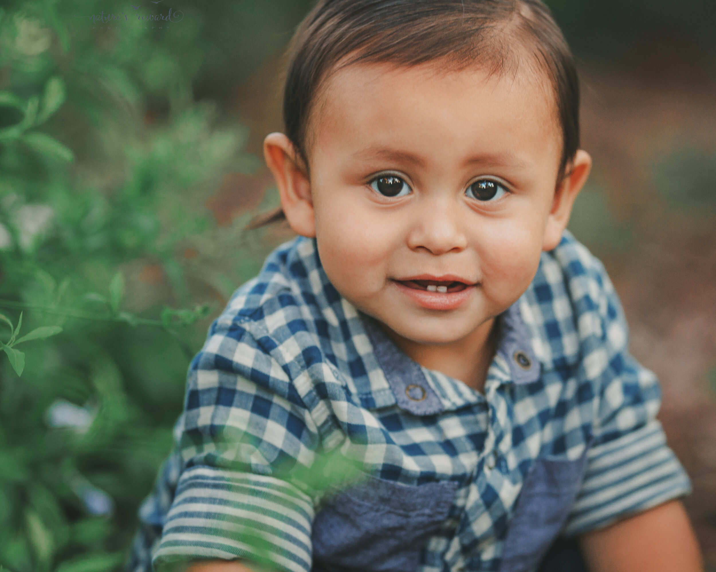 Young baby boy photography session in a park in redlands by San Bernardino photographer- Nature's rEward Photography