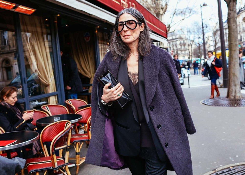 Véronique Tristram,  image by Phil Oh , Paris Fashion Week 2016.