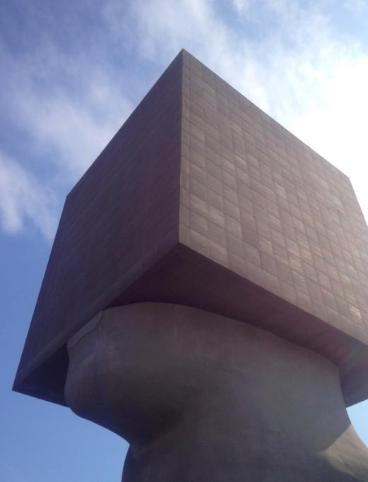 Large Head sculpture in Nice