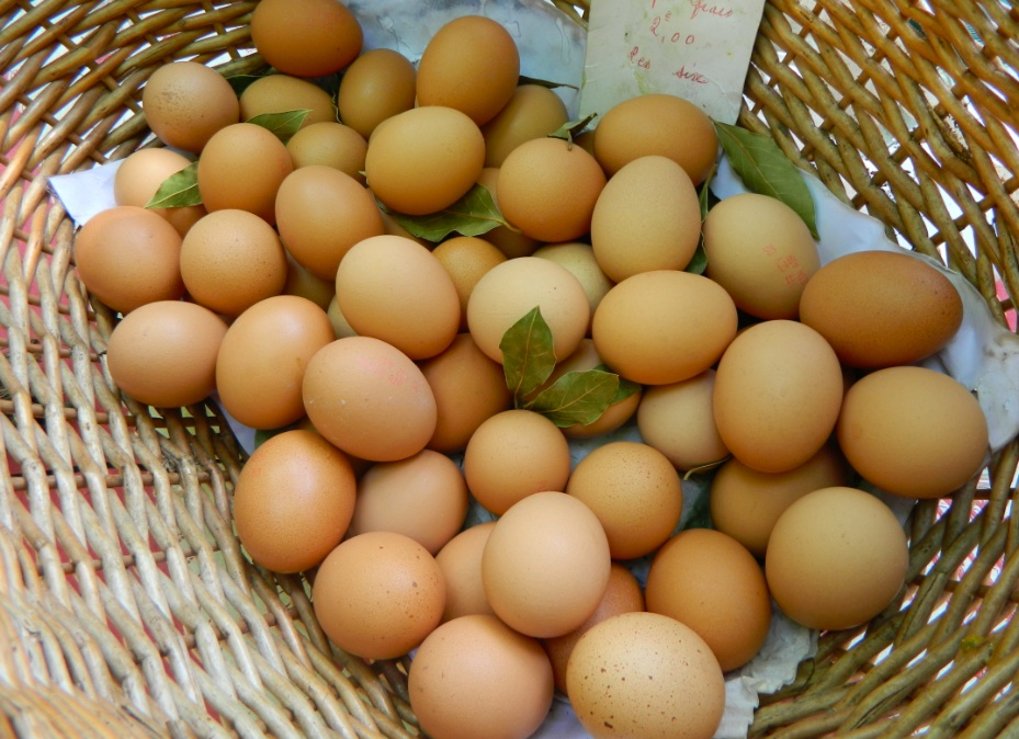 eggs from the market