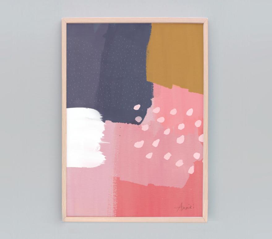 Abstract 108-Swiss Print