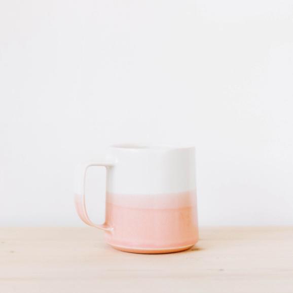 The Danish Mug in Peach Dip