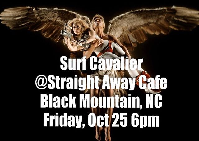 Surf Cavalier @thestraightaway  #surfcavalier #straightawaycafe #supportlivemusic #supportlocalmusic #wnclivemusic #blackmountainnc #suppoetlivemusicvenues