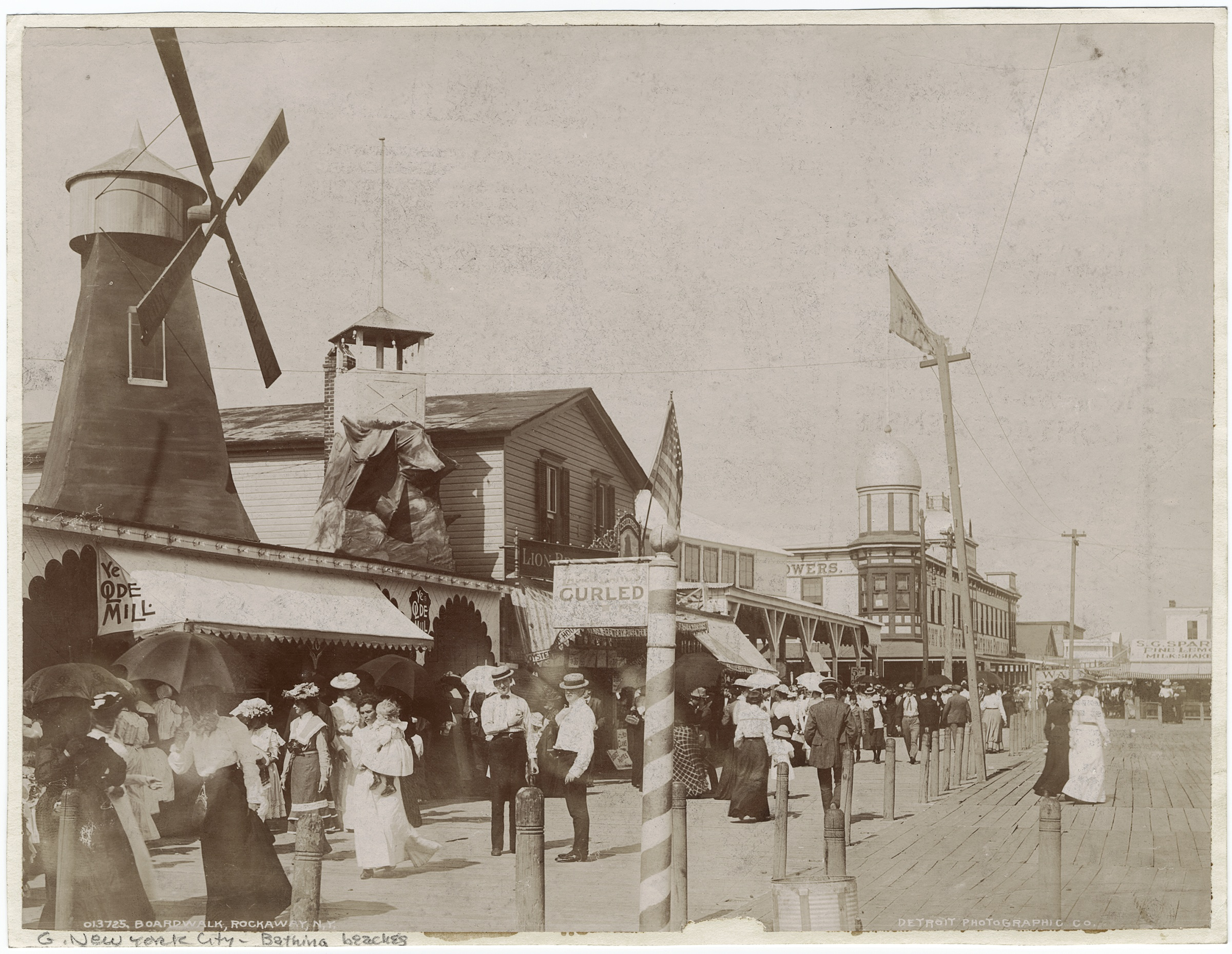The Rockaways, photograph courtesy of the New York Public Library